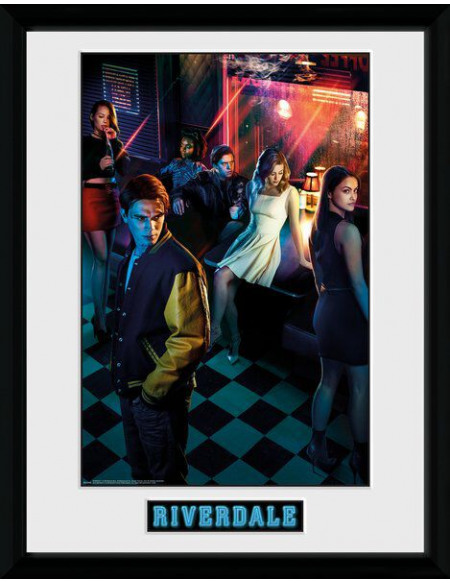 Riverdale Saison 1 - Groupe Photo encadrée multicolore