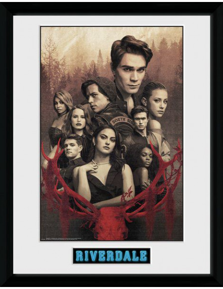 Riverdale Saison 3 - Groupe Photo encadrée multicolore