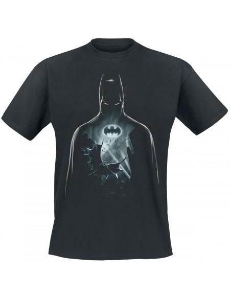 Batman Vol Au Dessus De Gotham T-shirt noir