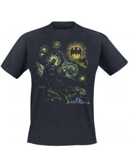 Batman Abstrait T-shirt noir