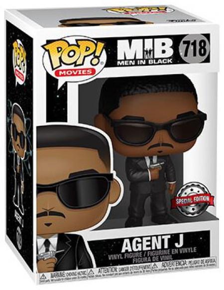 Men in Black Agent J (Funko Shop Europe) - Funko Pop! n°718 Figurine de collection Standard