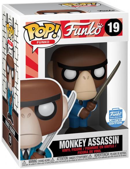 Funko Spastik Plastik - Monkey Assassin (Funko Shop Europe) - Funko Pop! n°19 Figurine de collection Standard