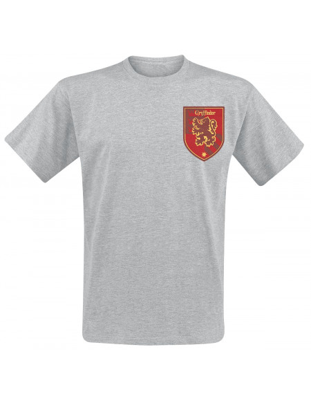 Harry Potter Gryffondor T-shirt gris chiné