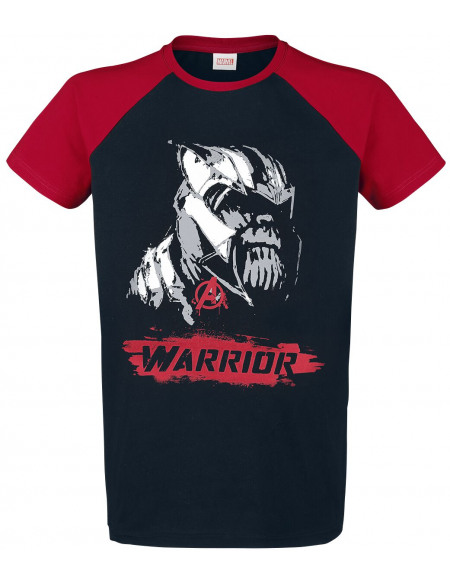 Avengers Warrior T-shirt noir/rouge