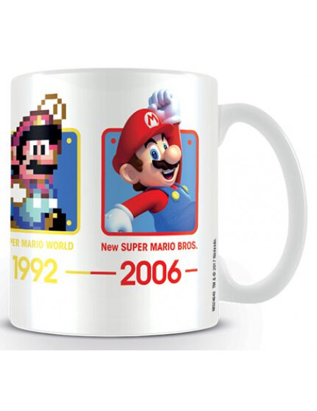 Super Mario Dates Mug multicolore