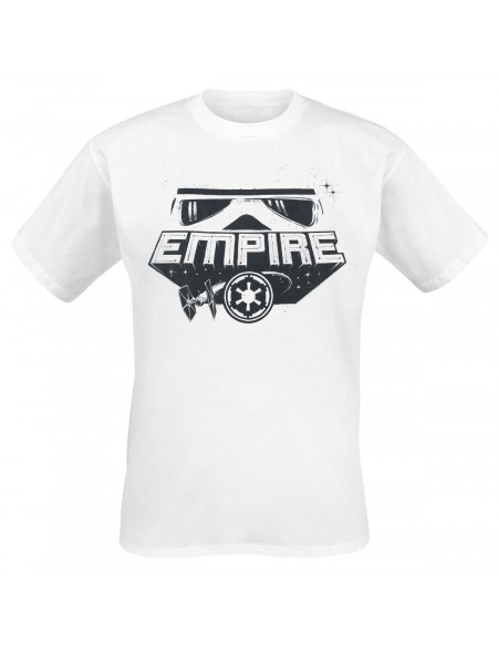 Star Wars Yeux De L'Empire T-shirt blanc