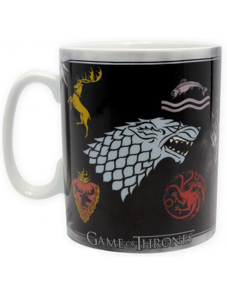 Game Of Thrones Maisons Mug multicolore
