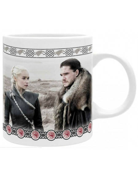 Game Of Thrones Daenerys & Jon Snow Mug multicolore