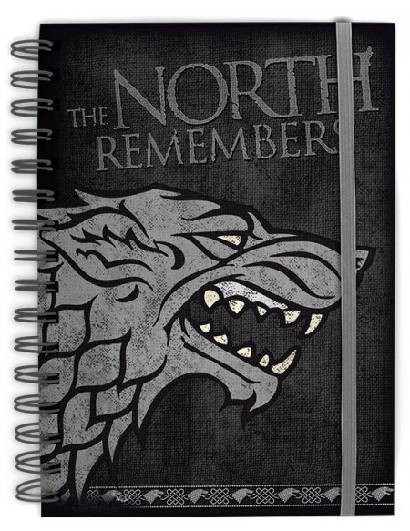 Game Of Thrones The North Remembers Cahier multicolore