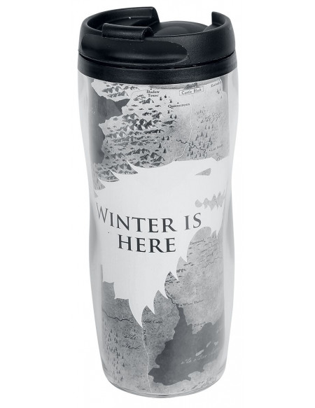 Game Of Thrones Maison Stark - Winter Is Here Bouteille multicolore