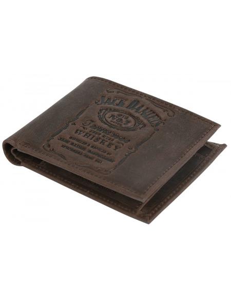 Jack Daniel's Portefeuille en Cuir marron