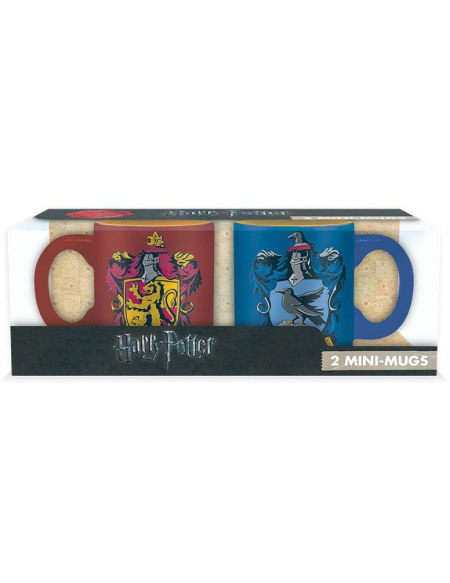 Set 2 mini-mugs Harry Potter - Gryffondor & Serdaigle - 110 ml
