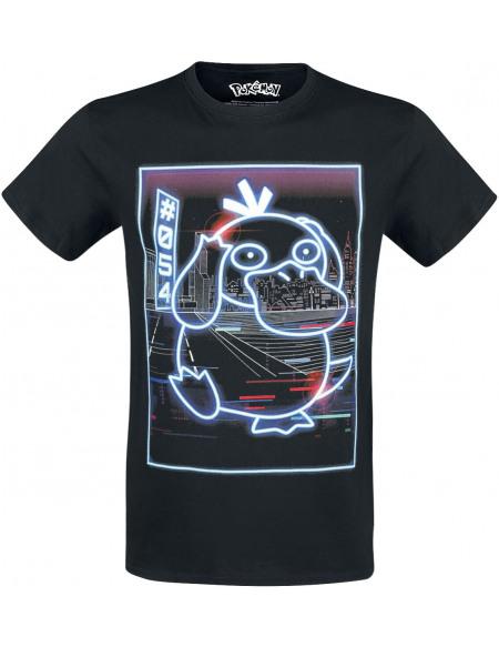 Pokémon Psykokwak - Néon T-shirt noir