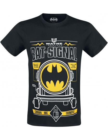 Batman Plan Bat Signal T-shirt noir