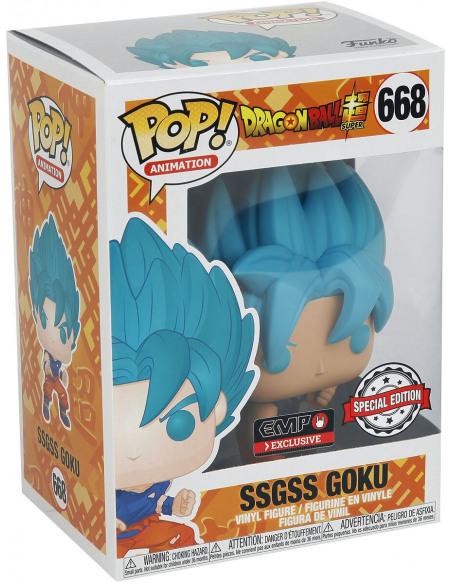 Dragon Ball Dragon Ball Super - SSGSS Goku - Funko Pop! n°668 Figurine de collection Standard