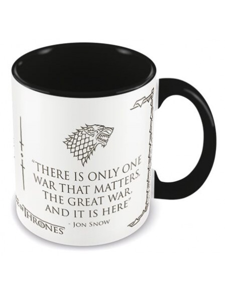 Game Of Thrones War Mug noir/blanc