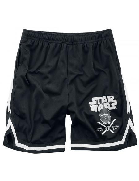 Star Wars Death Trooper Imperial Guard Short noir/blanc