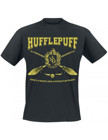 Harry Potter Poufsouffle T-shirt noir