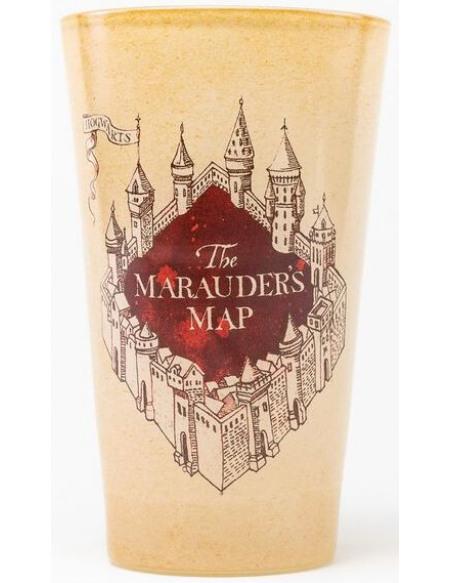 Harry Potter La Carte Du Maraudeur Verre à pinte beige