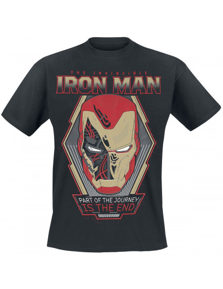 Avengers Endgame - The Invincible Iron Man T-shirt noir