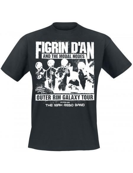 Star Wars Cantina Band - Outer Rim Galaxy Tour T-shirt noir