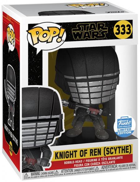 Star Wars Épisode 9 - L'Ascension de Skywalker - Knight of Ren (Scythe) (Funko Shop Europe) - Funko Pop! n°333 Figurine de collection Standard