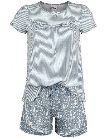 Alice Au Pays Des Merveilles Vive Maria - Falling In Wonderland Pyjama bleu/blanc