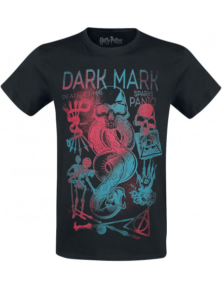 Harry Potter Dark Mark T-shirt noir