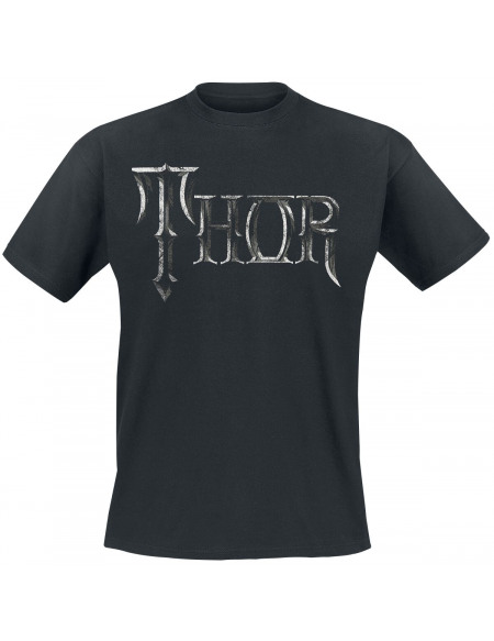 Thor Hammer T-shirt noir