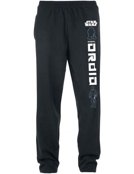 Star Wars Droïde Pantalon de Jogging noir