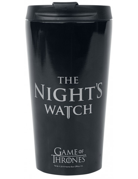 Game Of Thrones Nights Watch Gobelet noir