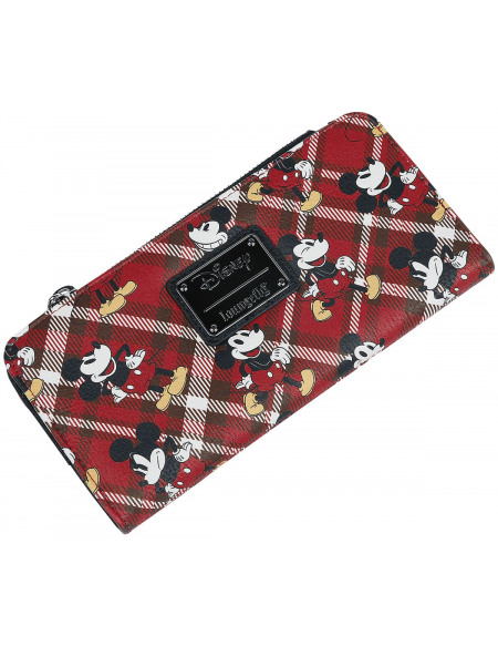 Mickey & Minnie Mouse Loungefly - Micky Maus Portefeuille multicolore