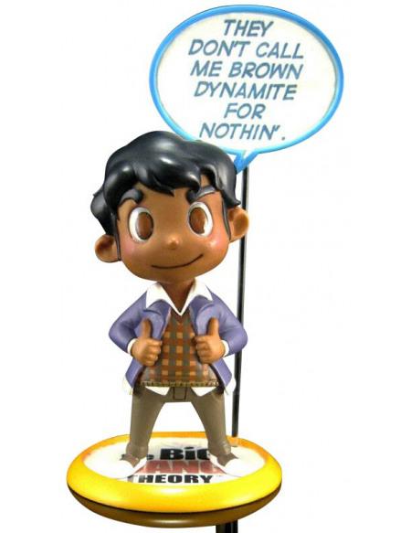 The Big Bang Theory Rajesh Koothrappali - Q-Figur Figurine de collection Standard