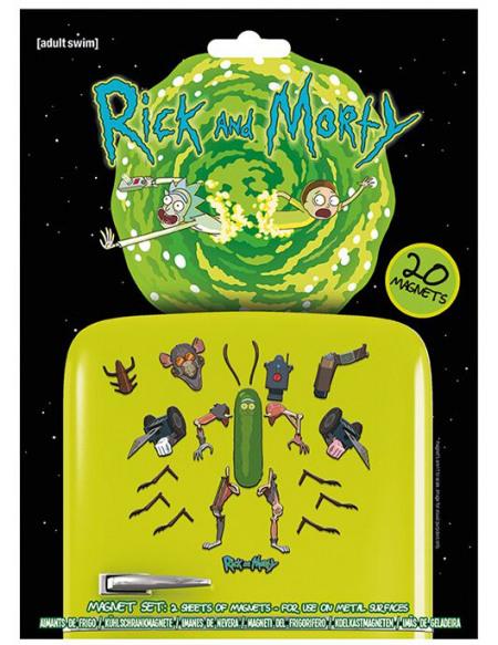 Rick & Morty Weaponize The Pickle Magnette frigo multicolore