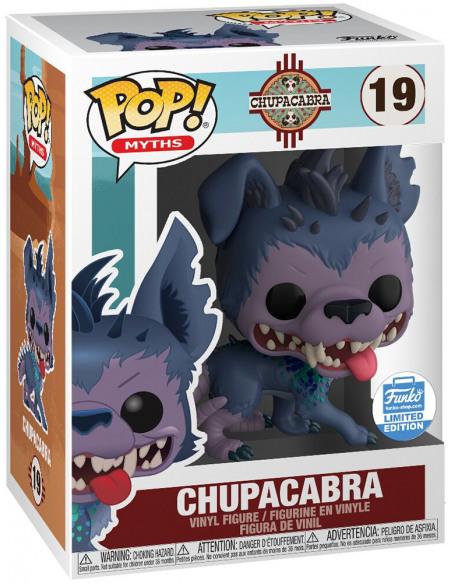 Funko Chupacabra (Funko Shop Europe) - Funko Pop! n°19 Figurine de collection Standard