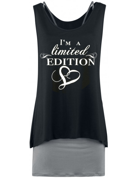 Robe 2-En-1 - I'm A Limited Edition Robe noir/anthracite