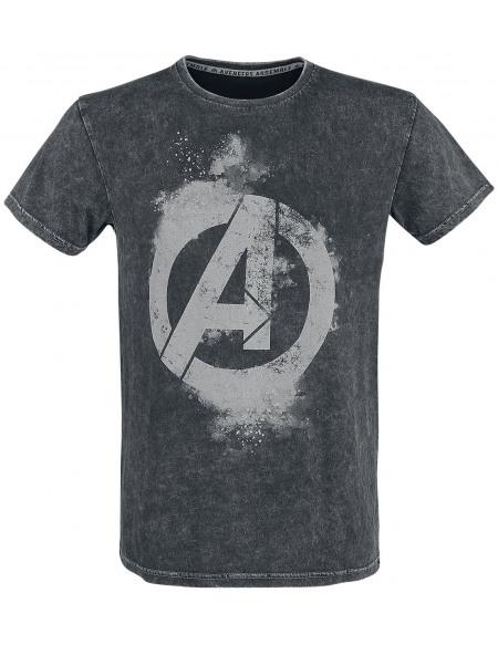 Avengers Earth's Mightiest Heroes T-shirt noir