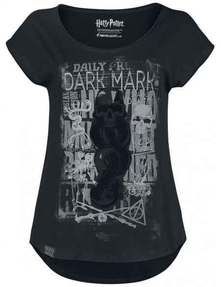 Harry Potter Forces du Mal - Marque des Ténèbres T-shirt Femme noir