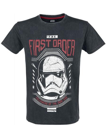 Star Wars Épisode 9 - L'Ascension de Skywalker - First Order T-shirt noir