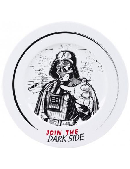 Star Wars Join The Dark Side Assiette multicolore