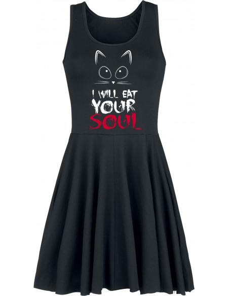 I Will Eat Your Soul Robe noir