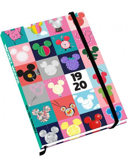 Mickey & Minnie Mouse Agenda 2019/2020 Agenda multicolore