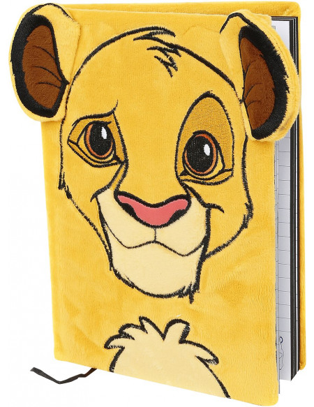 Le Roi Lion Simba Cahier jaune