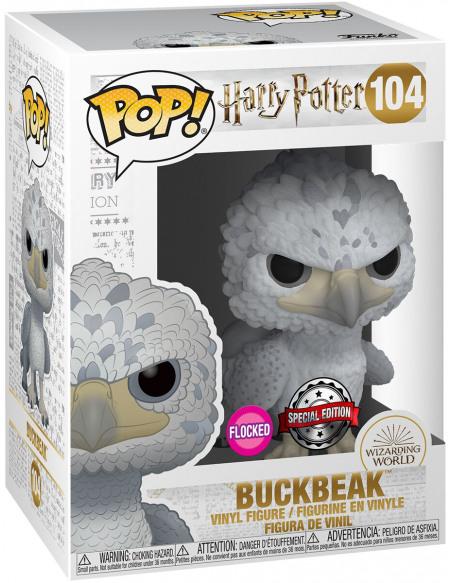 Harry Potter Buck (Flocked) - Funko Pop! n°104 Figurine de collection Standard