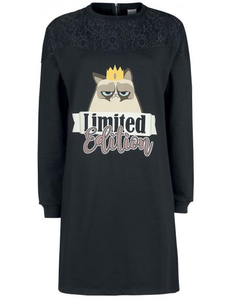 Grumpy Cat Limited Edition Robe noir