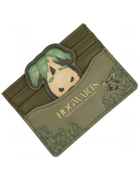 Harry Potter Loungefly - Mandragore Porte-cartes vert olive/marron