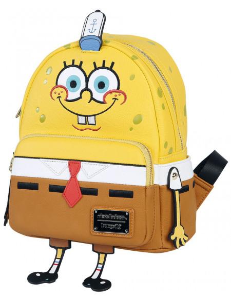 SpongeBob SquarePants Loungefly - Bob l'Éponge Sac à Dos multicolore