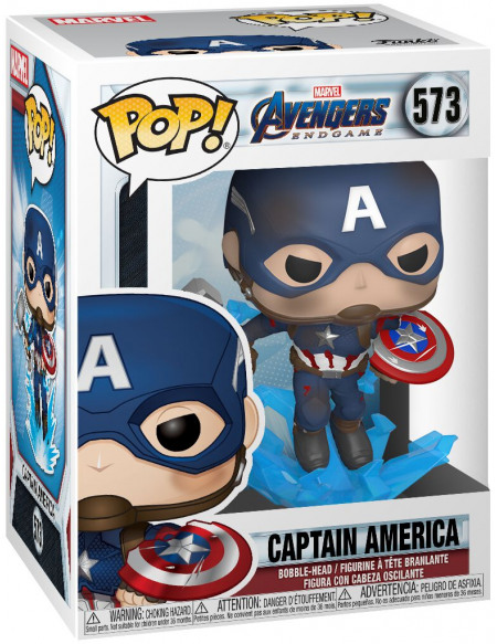 Avengers Endgame - Captain America - Funko Pop! n°573 Figurine de collection Standard