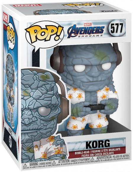 Avengers Endgame - Korg - Funko Pop! n°577 Figurine de collection Standard
