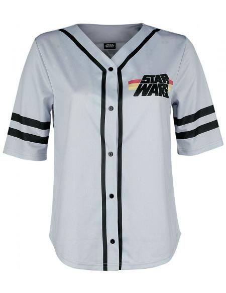 Star Wars 77 T-shirt Femme gris
